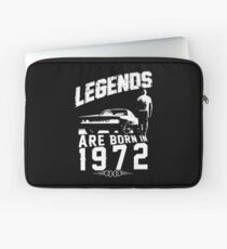 Legends Are Born In 1972 Laptop Sleeve