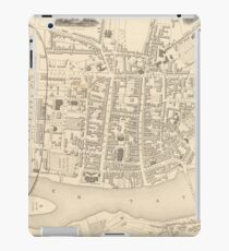 Vintage Map of Perth Scotland (1851) iPad Case/Skin