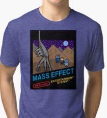 NEStalgia: Mass Effect Tri-blend T-Shirt