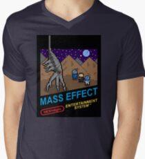 NEStalgia: Mass Effect Mens V-Neck T-Shirt