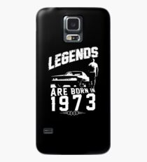 Legends Are Born In 1973 Case/Skin for Samsung Galaxy