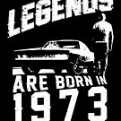 Legends Are Born In 1973 by wantneedlove