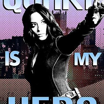 Quake Is My Hero Poster  by AngelaFV