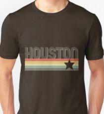 Houston Vintage Retro Texas Art Design Gift City T-Shirt Unisex T-Shirt