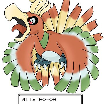 Wild Ho-Oh Appeared! by FireFlea