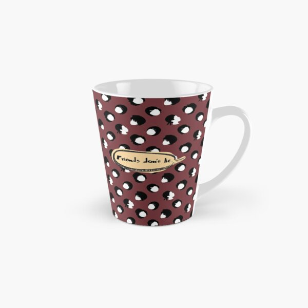 Drama inspired collection - Stranger things - Friends don't lie (Deep red) Tall Mug