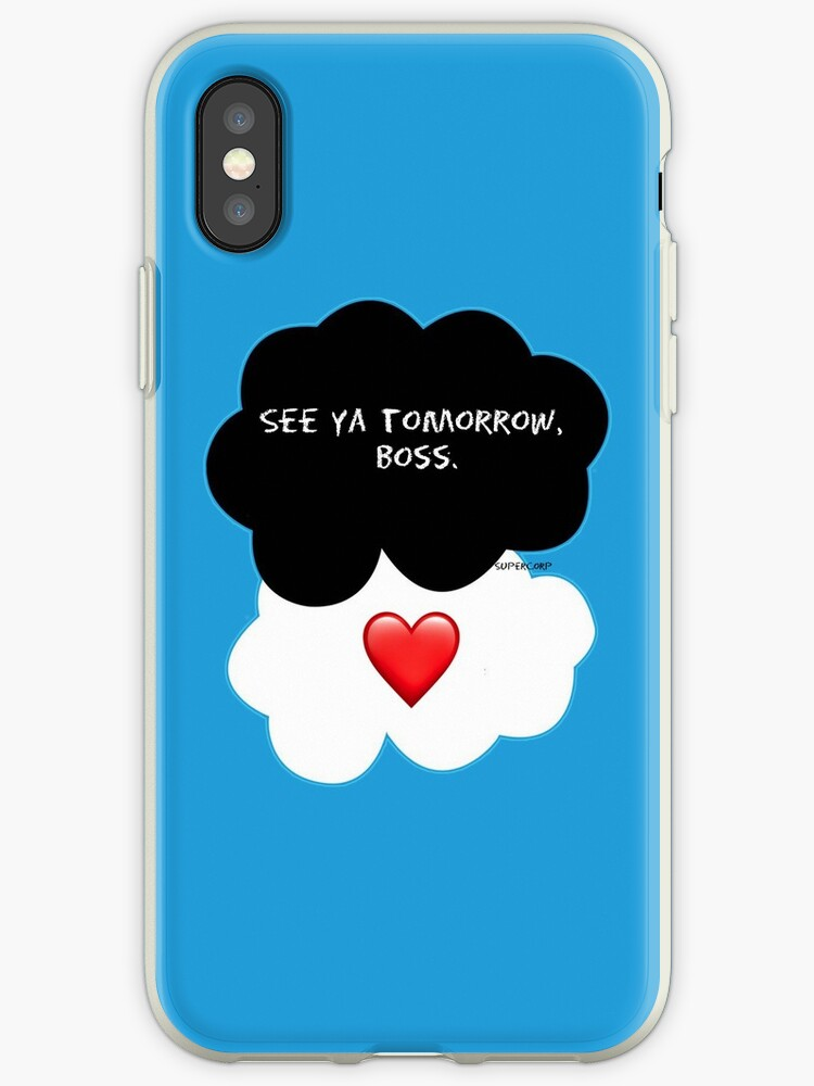 'Supercorp - The Fault in Our Stars' iPhone Case by Castleinthemoon