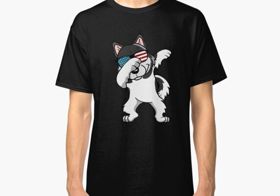 Dabbing Alaskan Malamute Dog America Flag Patriotic Merica Murica Pride Free USA 4th of July T-Shirt Sweater Hoodie Iphone Samsung Phone Case Coffee Mug Tablet Case Gift