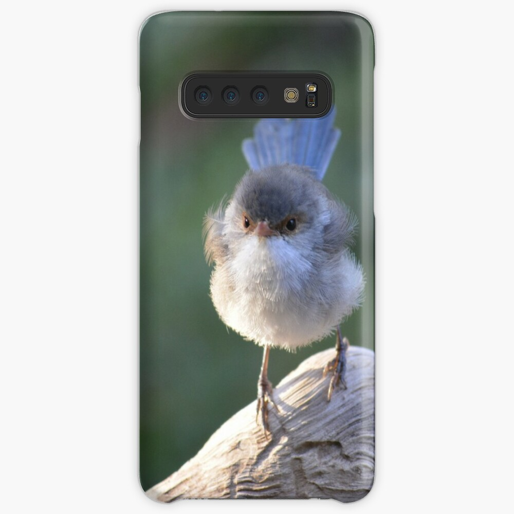 Blue Wren female, logging on! Samsung Galaxy Snap Case