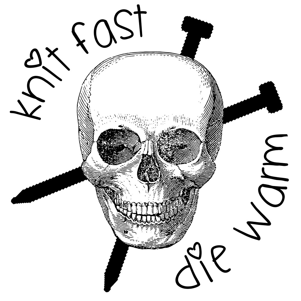 Knit fast, die warm by GamerCrafting