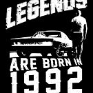 Legends Are Born In 1992 by wantneedlove