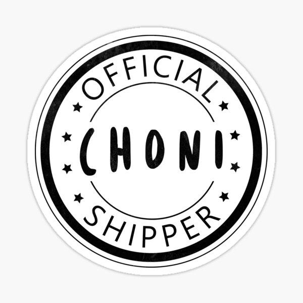 Official Choni Shipper Sticker