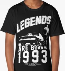 Legends Are Born In 1993 Long T-Shirt
