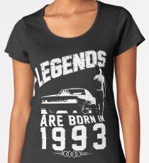 Legends Are Born In 1993 Women's Premium T-Shirt
