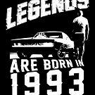 Legends Are Born In 1993 by wantneedlove