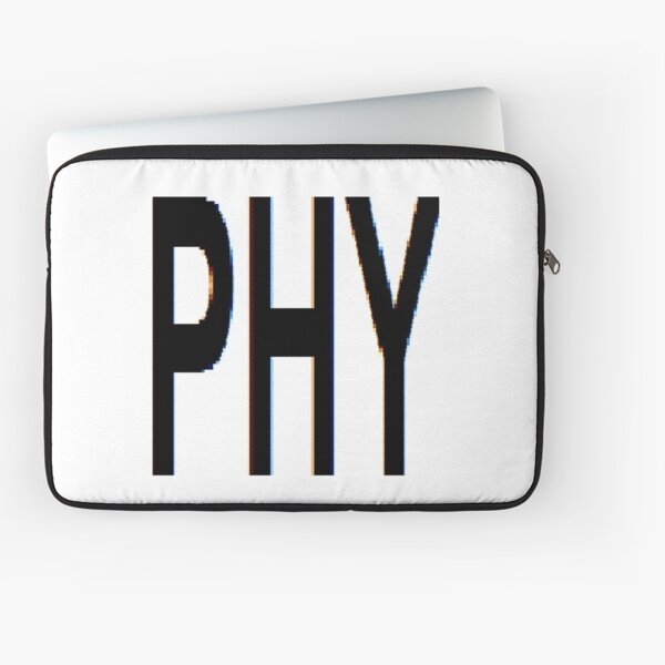 Physics Prints, PHY, Physics, Fancy, phantasy, fantasia, idea, illusion, delusion, fantasy, hallucination Laptop Sleeve