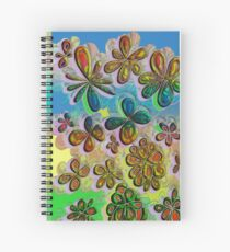 Love in the Flowers  Spiral Notebook