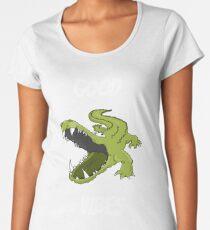 Good Vibes crocodile alligator croc gator  Women's Premium T-Shirt