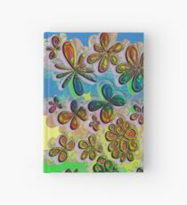 Love in the Flowers  Hardcover Journal