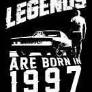Legends Are Born In 1997 by wantneedlove