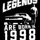 Legends Are Born In 1998 by wantneedlove