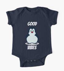 Good Vibes Penguin One Piece - Short Sleeve