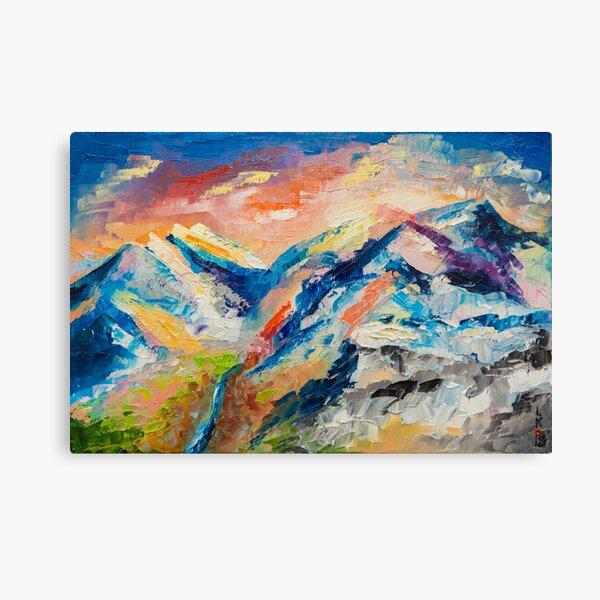 HIMALAYAN LANDSCAPE Canvas Print