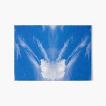 Bee Cloud  Art Board Print