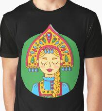 Russian girl Graphic T-Shirt