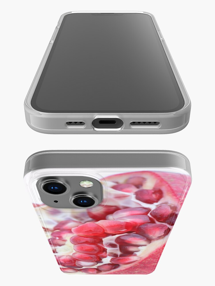Alternate view of Pomegranate iPhone Case