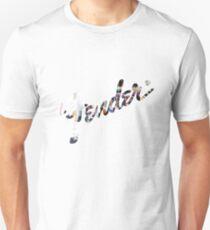 Fender Logo Guitar Design  Unisex T-Shirt