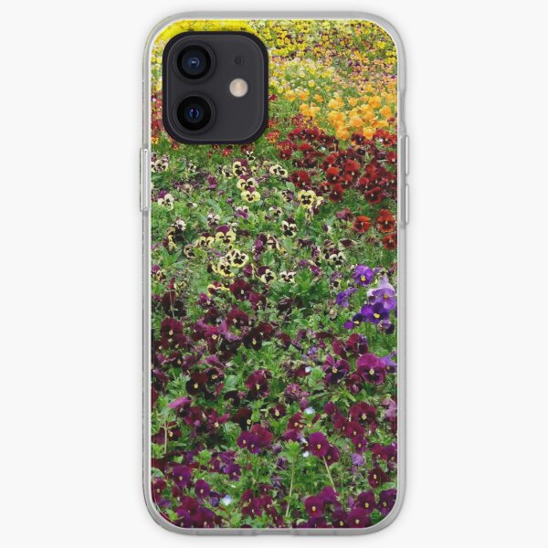 Pansy Garden iPhone Soft Case