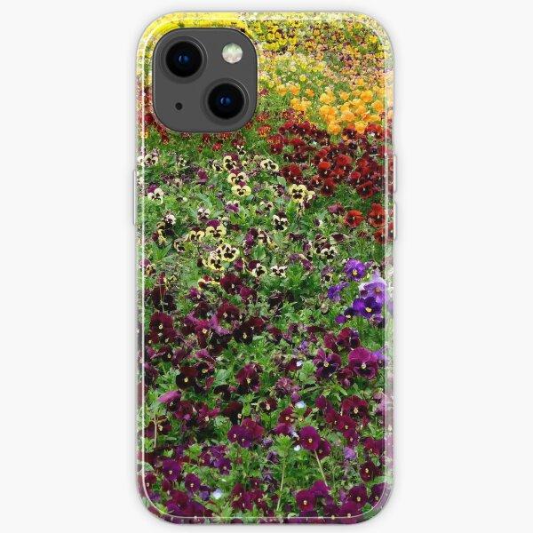 Pansy Garden iPhone Soft Case