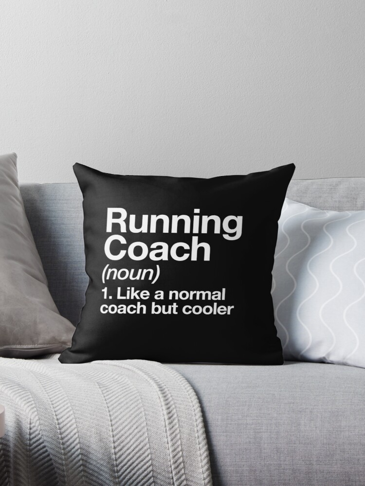 Running Coach Funny Definition Trainer Gift Design