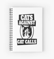 Cats Against Cat Call Top Sell Spiral Notebook