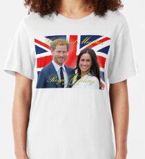 HRH Prince Harry and Meghan Markle Royal Wedding Memorabilia - Pro Photo Slim Fit T-Shirt