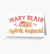 Mary Blair is my Spirit Animal Greeting Card