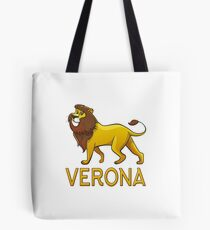 Verona Lion Drawstring Bags Tote Bag