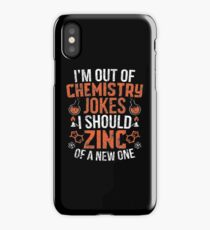 Funny Chemisty Science Apparel iPhone Case