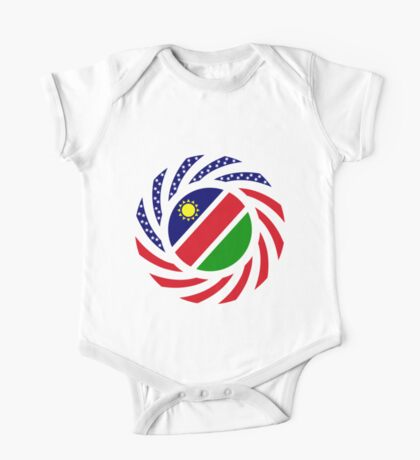Namibian American Multinational Patriot Flag Series Kids Clothes