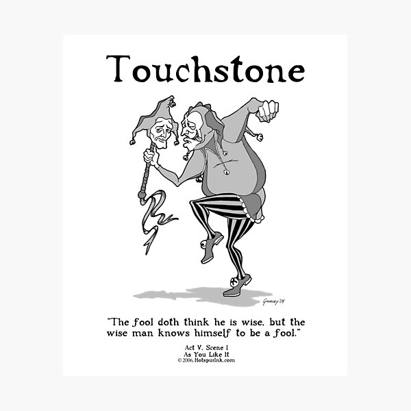 TOUCHSTONE Photographic Print