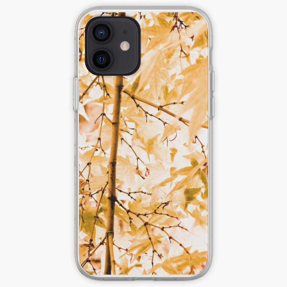 Japanese Maple Tree Leaves iPhone Case & Cover