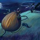 Slashing Pumpkins by Heather Rinehart