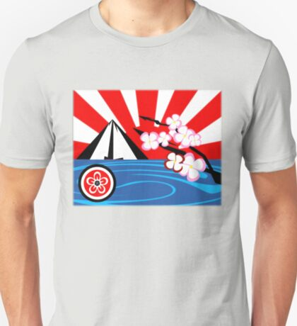 Mt. Fuji w/Cherry Blossoms T-Shirt