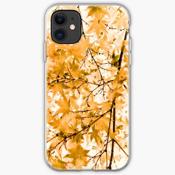 Japanese Maple Tree Acer Palmatum iPhone Soft Case