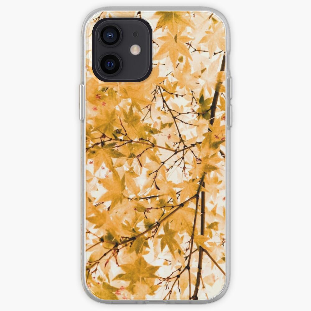 Japanese Maple Tree Acer Palmatum iPhone Case & Cover