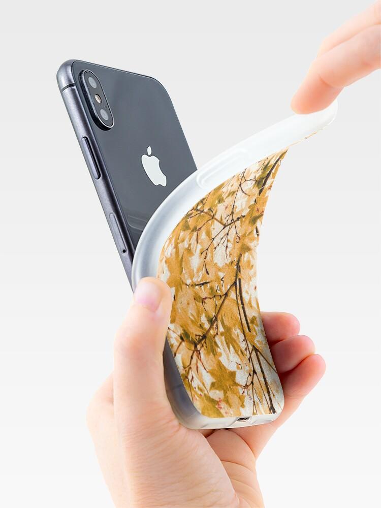 Alternate view of Japanese Maple Tree Acer Palmatum iPhone Case & Cover
