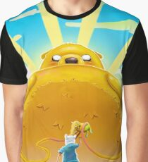 Adventure Time with Finn and Jake Graphic T-Shirt