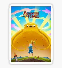 Adventure Time with Finn and Jake Sticker