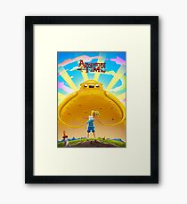 Adventure Time with Finn and Jake Framed Print